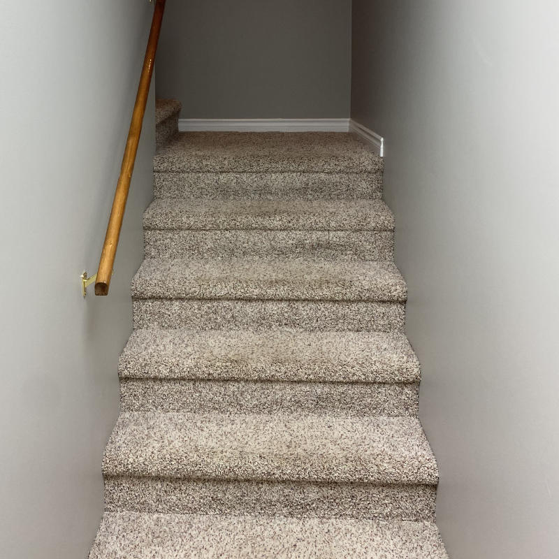 carpet cleaning stairs