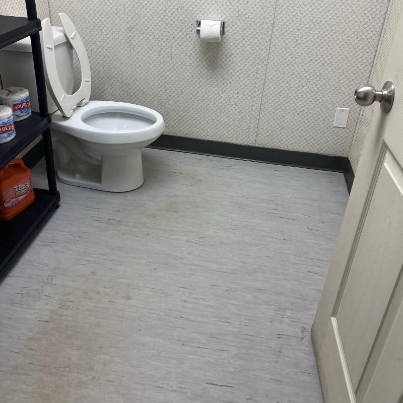 trailer washroom After